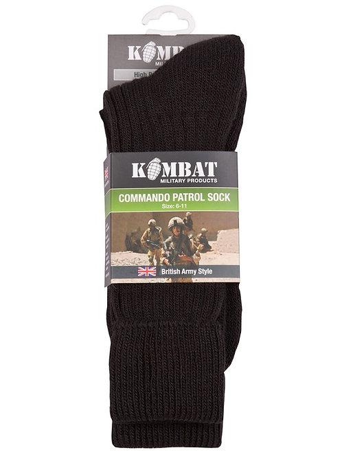 Kombat UK Patrol Socks - Black