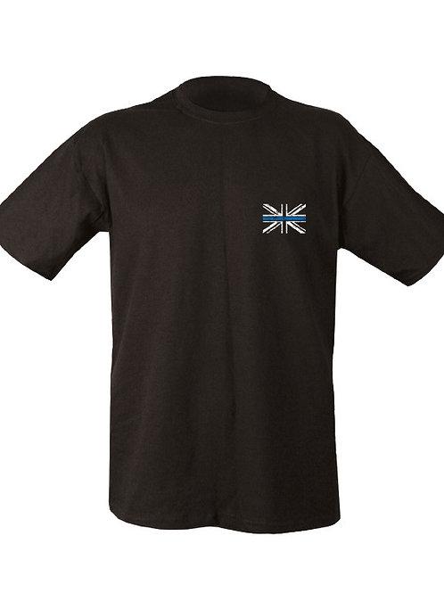 Kombat UK Thin BLUE Line T-Shirt