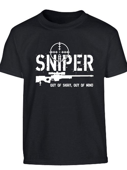 Kombat UK Kids Sniper T-shirt - Black