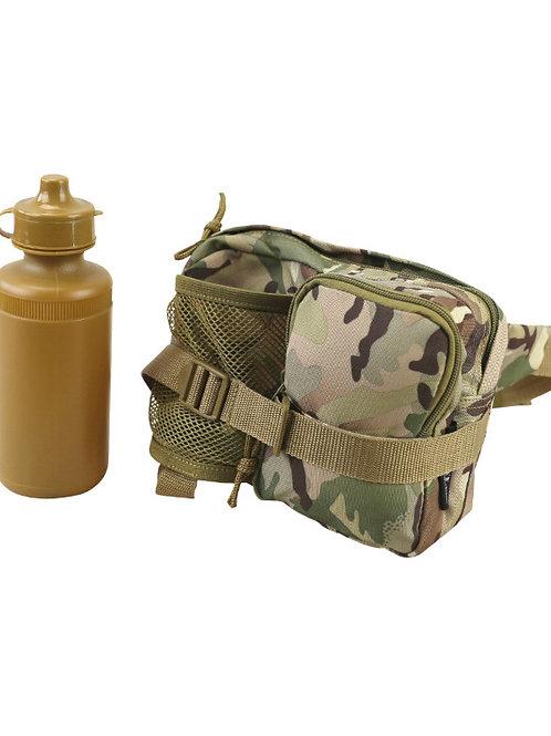 Kombat UK Waist Bag with Bottle - BTP