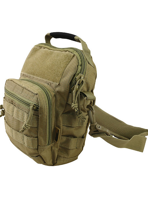 Kombat UK Hex - Stop Explorer Shoulder Bag - Coyote