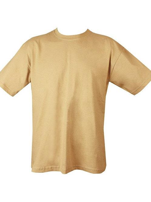 Kombat UK Military Plain T-shirt -Tan