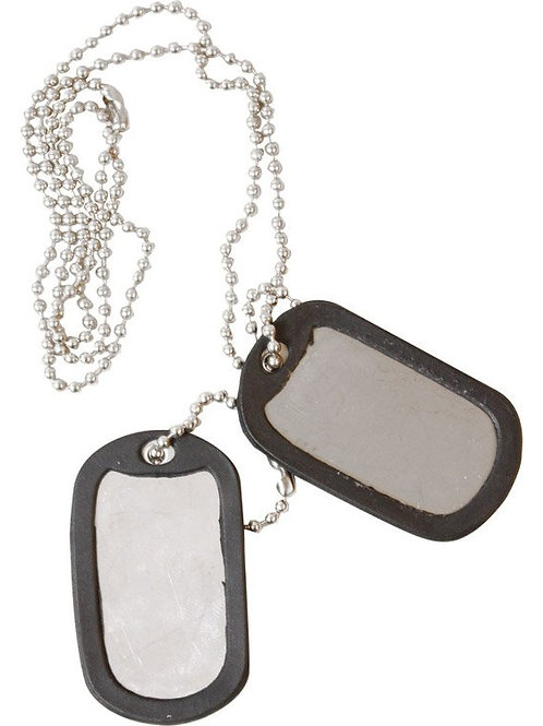 Kombat UK Dog Tags - Silver