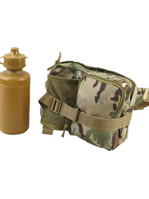 Kombat UK Waist Bag with Bottle - BTP