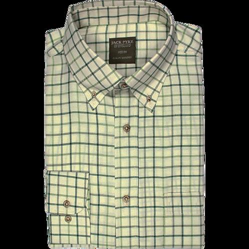 Jack Pyke Countryman Shirt - Green Check