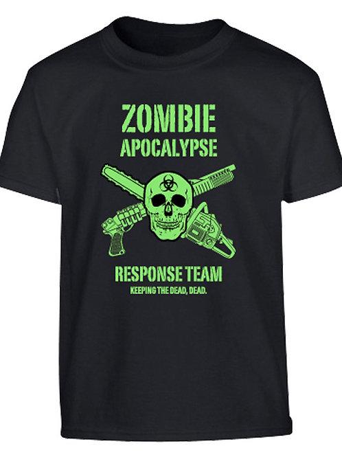 Kombat UK Kids Zombie Apocalypse T-shirt - Black