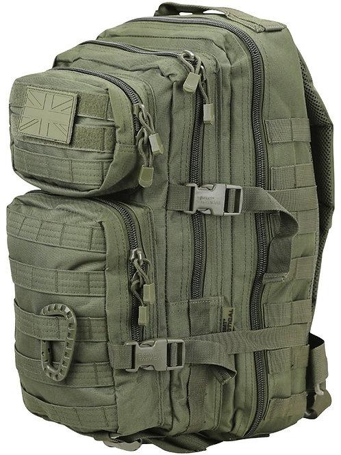Kombat UK Small Molle Assault Pack 28 Litre - Olive Green