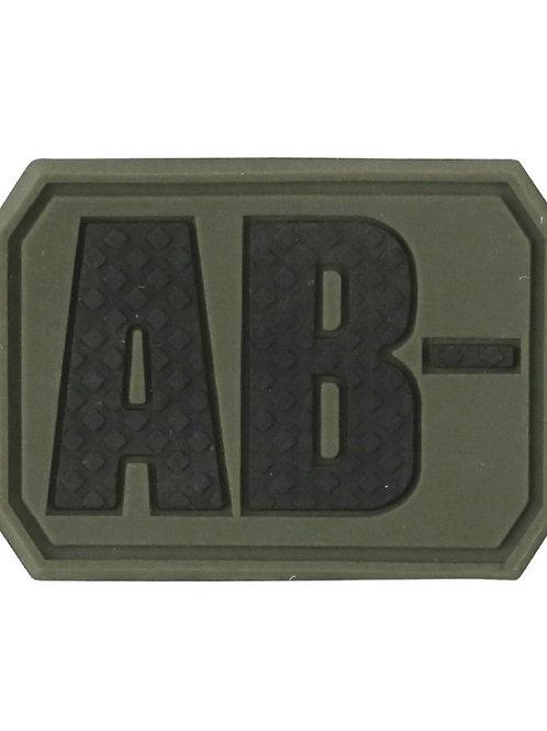 Kombat UK Blood Group Patch - AB-