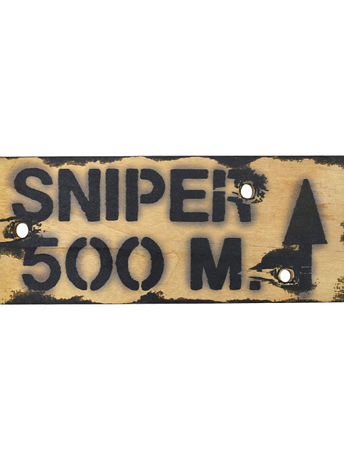 Kombat UK Sniper 500m Sign