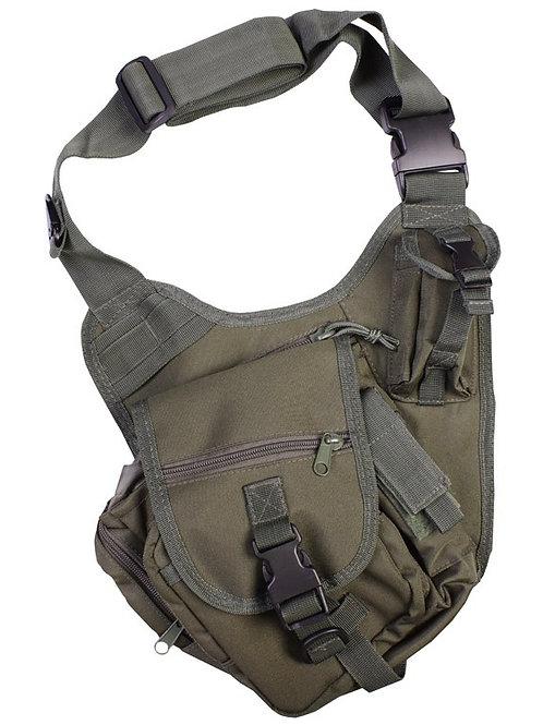 Kombat UK Tactical Shoulder Bag 7 Litre - Olive Green