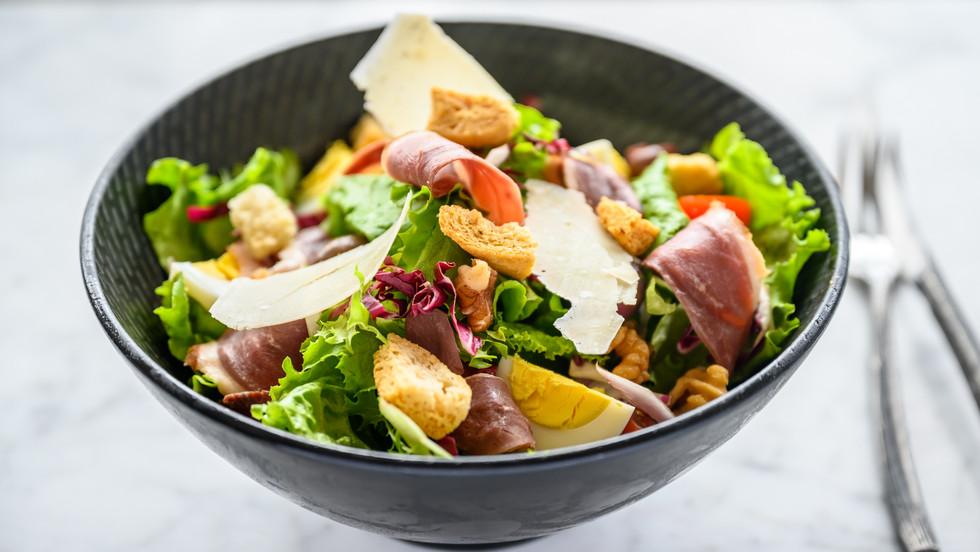 Salade de magret de canard