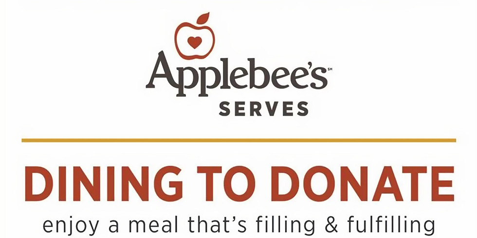 Applebees Dining to Donate