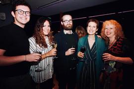 From left: Sami Barqawi, Talia Sanz, Odinn Orn Himarlsson, Anna Driftmier, Lydia Parker