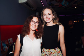 Meaghan Martin with Writer and Actress Ziggy Luz