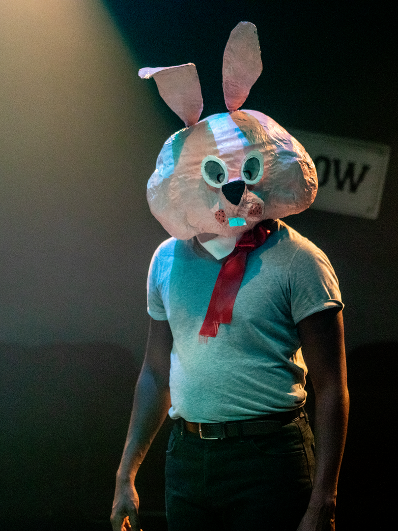 Adrian Richards in The Actor's Nightmare. Photo by Ali Wright.