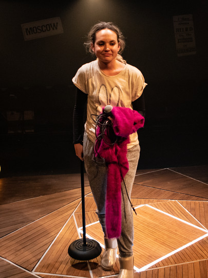 Meaghan Martin in The Actor's Nightmare. Photo by Ali Wright.
