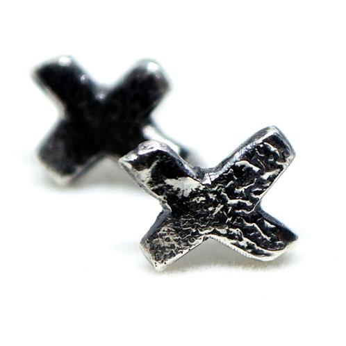 XX stud earrings