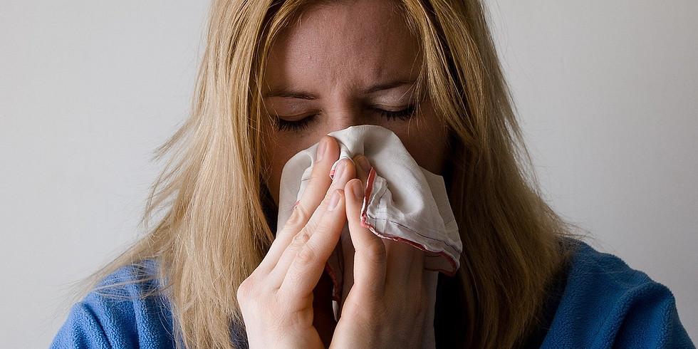 Allergien, Heuschnupfen, Nahrungsmittelunverträglichkeiten
