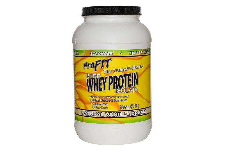Hormone Free Pure Whey Protein Isolate - Vanilla