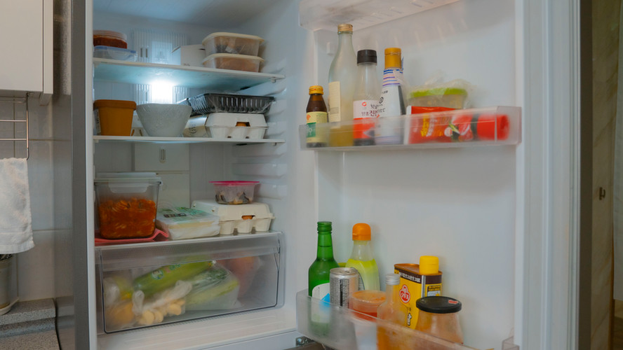 냉장고 안