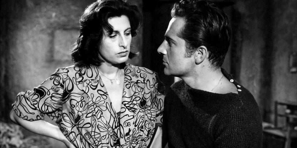 Proiezione del film Vulcano di William Dieterle, con Anna Magnani