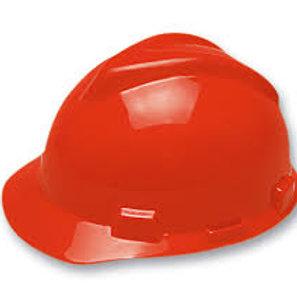 Casco MSA V-Gard Rojo
