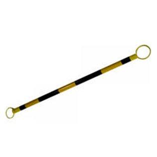 Barra para cono amarilla con negro