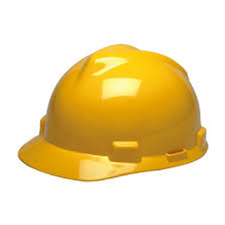 Casco MSA V-Gard Amarillo