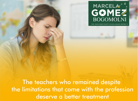 The teachers who remained despite the eliminations that come with the profession deserve a better...