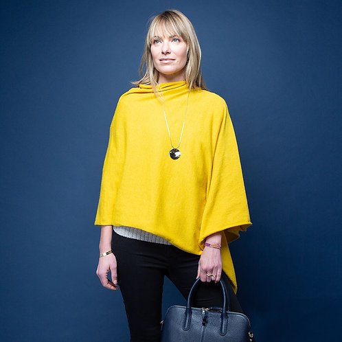 Tilley & Grace Mustard Poncho