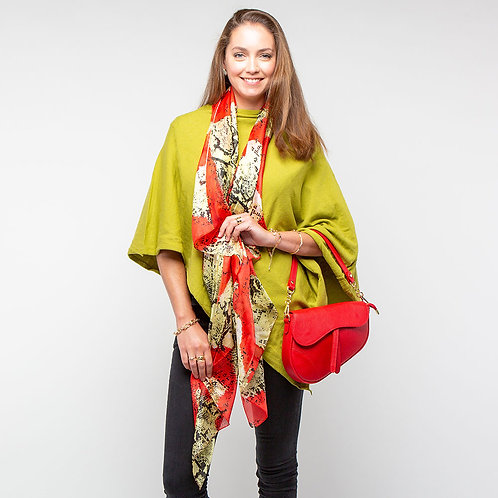 Tilley & Grace Chartreuse Poncho