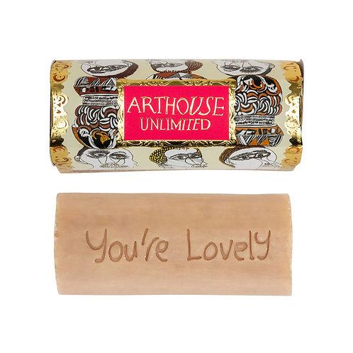 ARTHOUSE Unlimited Figureheads Design Organic Tubular Soap