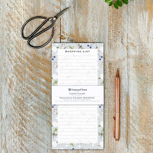 Toasted Crumpet Dragonfly Pure Magnetic Shopping List Pad