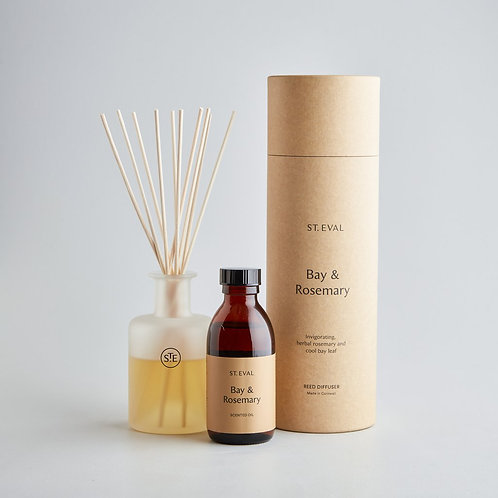 St.Eval Bay and Rosemary Reed Diffuser 150ml
