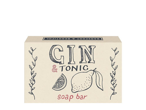 Barefoot and Beautiful 'Gin and Tonic' Juniper Soap Bar