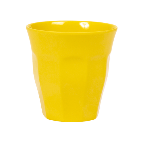 Rice Bright Yellow Melamine Cup