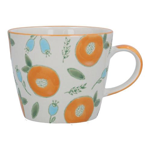 Gisela Graham Apricot & Berry Mug