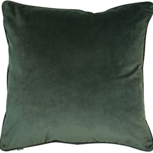Large Luxe Pinegreen Cushion (50 x 50)