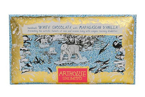 ARTHOUSE Unlimited The Freeze Handmade White Chocolate with Madagascan Vanilla