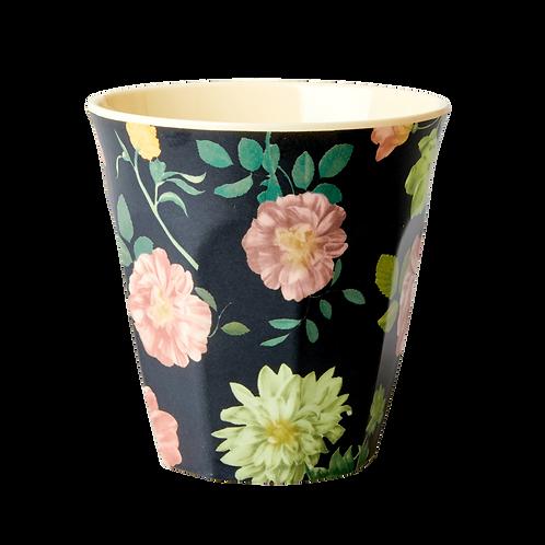 Rice Dark Rose Melamine Cup