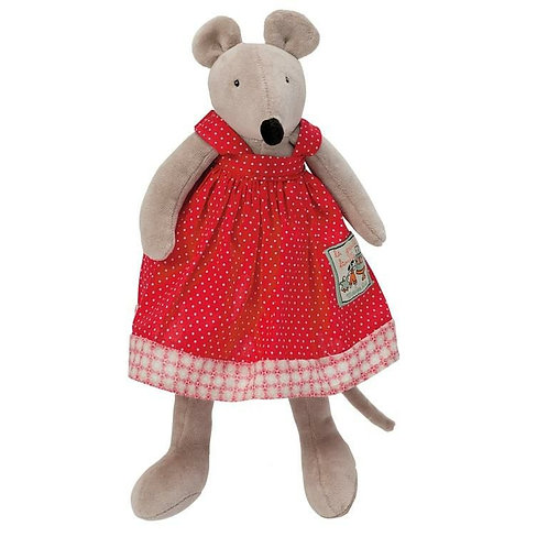 Moulin Roty Nini Mouse Soft Toy (20cm)