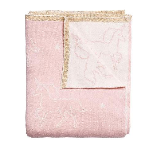 Sophie Allport Unicorn Baby Blanket