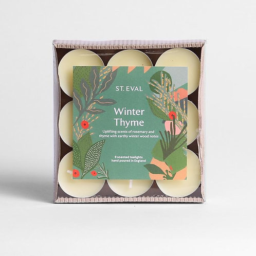 St. Eval Winter Thyme Tealights