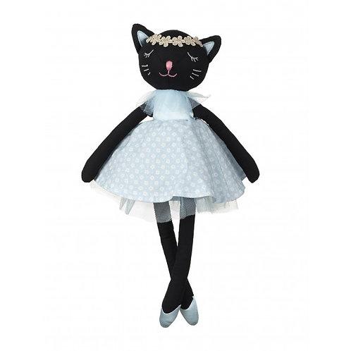 Orange Tree Black Cat Toy