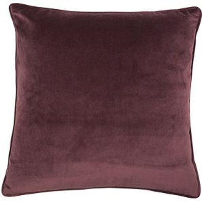 Large Luxe Aubergine Cushion (50 x 50)