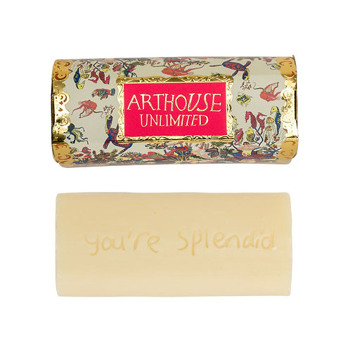 ARTHOUSE Unlimited Angels Of The Deep Design Organic Tubular Soap