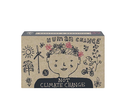 Barefoot and Beautiful 'Not Climate Change' Blackberry and Rhubarb Soap Bar