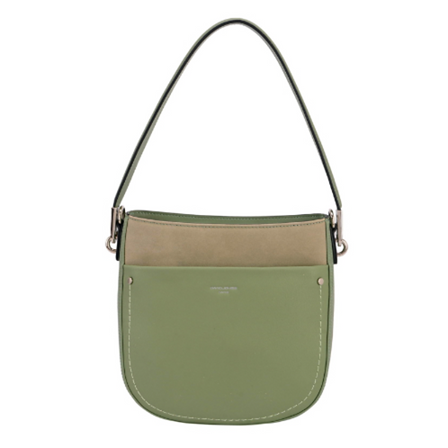 David Jones Green Handbag