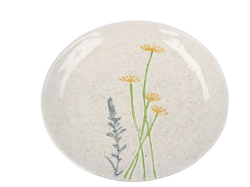 Gisela Graham Daisy and Lavender Plate