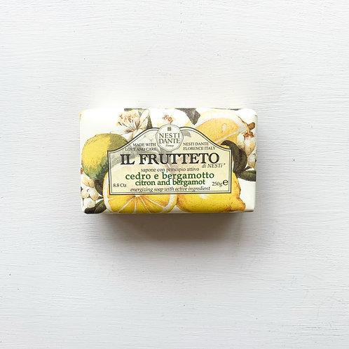 Nesti Dante Citron and Bergamot Soap (250g)